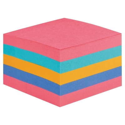 Post-it super sticky viestilappukuutio 76x76mm sateenkaari