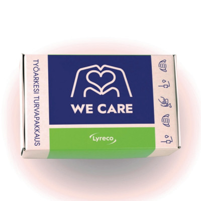 We care -pakkaus